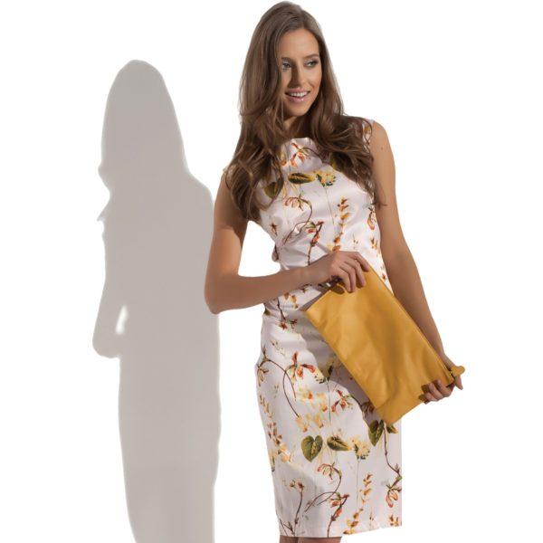 Sukienka satynowa Botanic