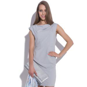 Sukienka mini z marszczeniami