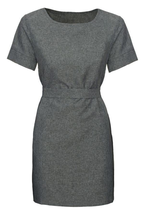 Sukienka mini szara