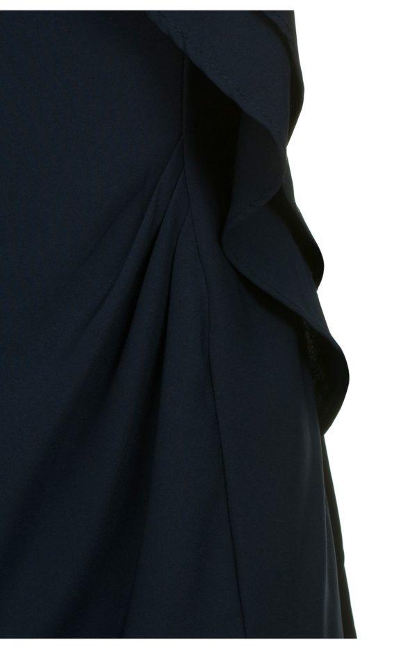 Sukienka mini z falbanami granatowa Fervent packshot zoom