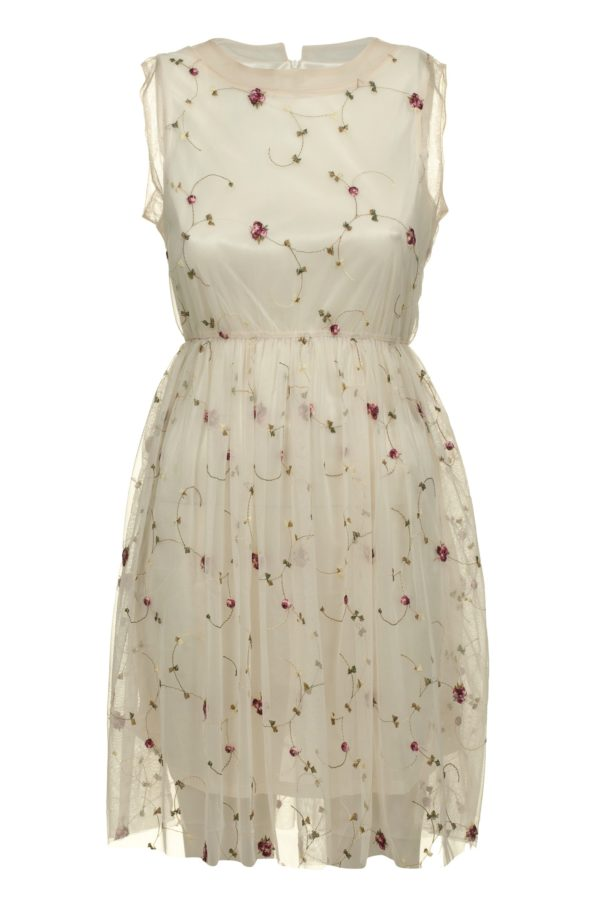 Sukienka tiulowa mini haftowana Crazy Daisy packshot front