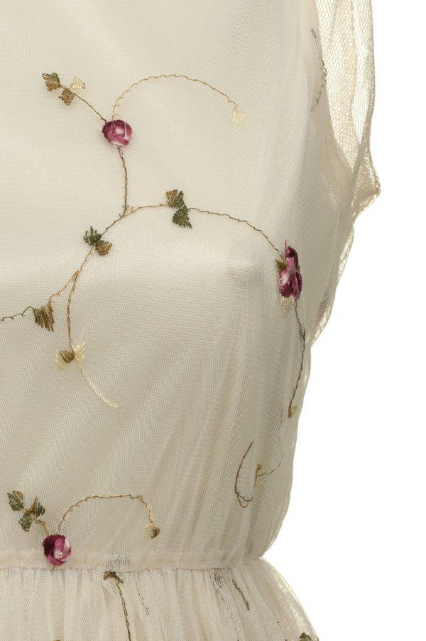 Sukienka tiulowa mini haftowana Crazy Daisy packshot zoom