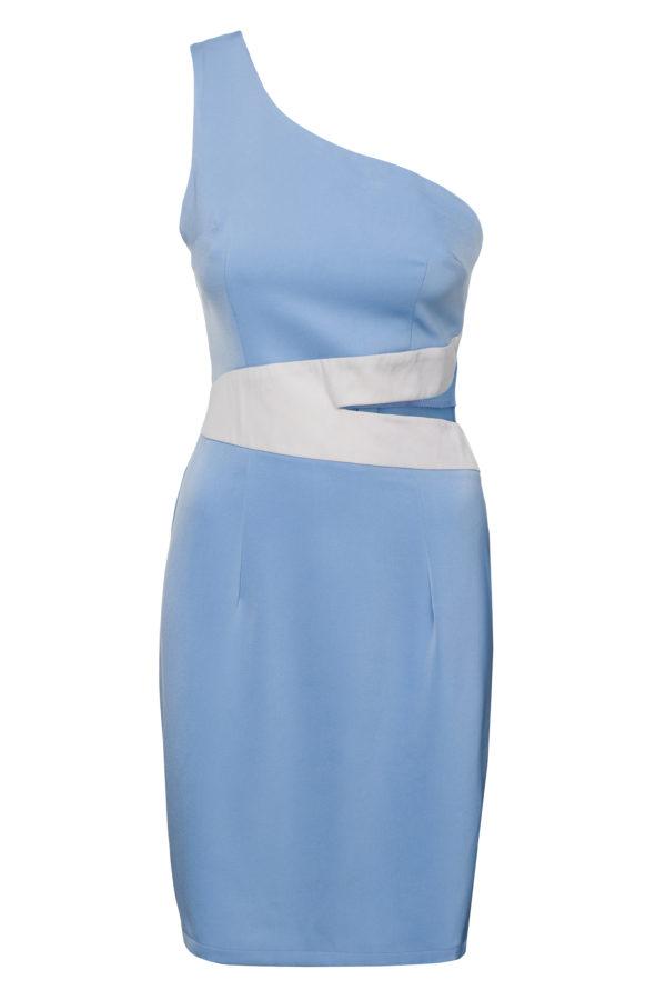 Sukienka olowkowa na jedno ramie Heaven packshot front