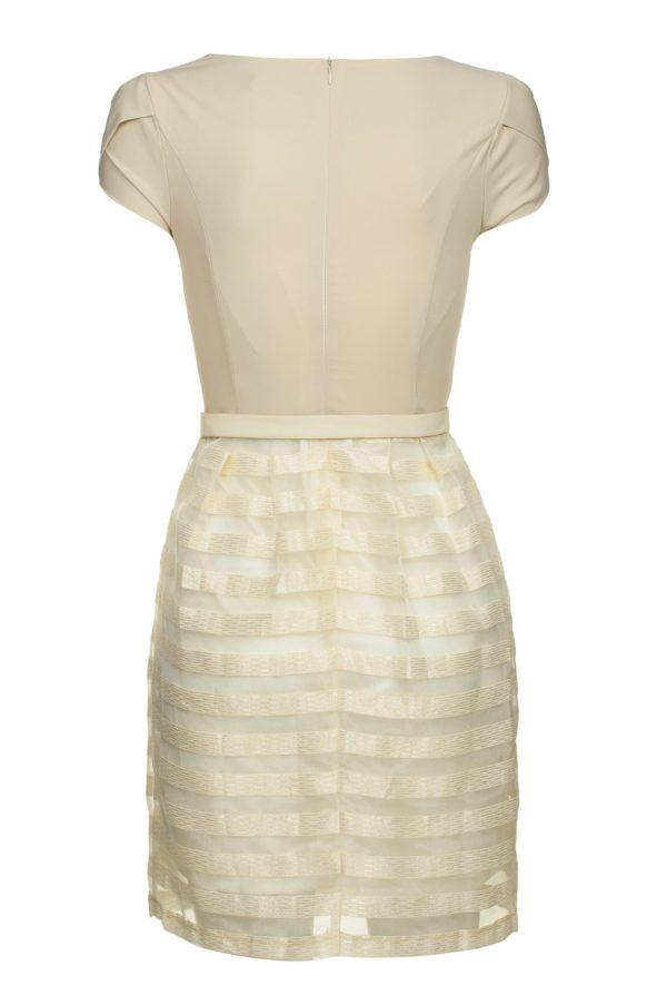 Sukienka szyfonowa mini Delight, packshot, tył