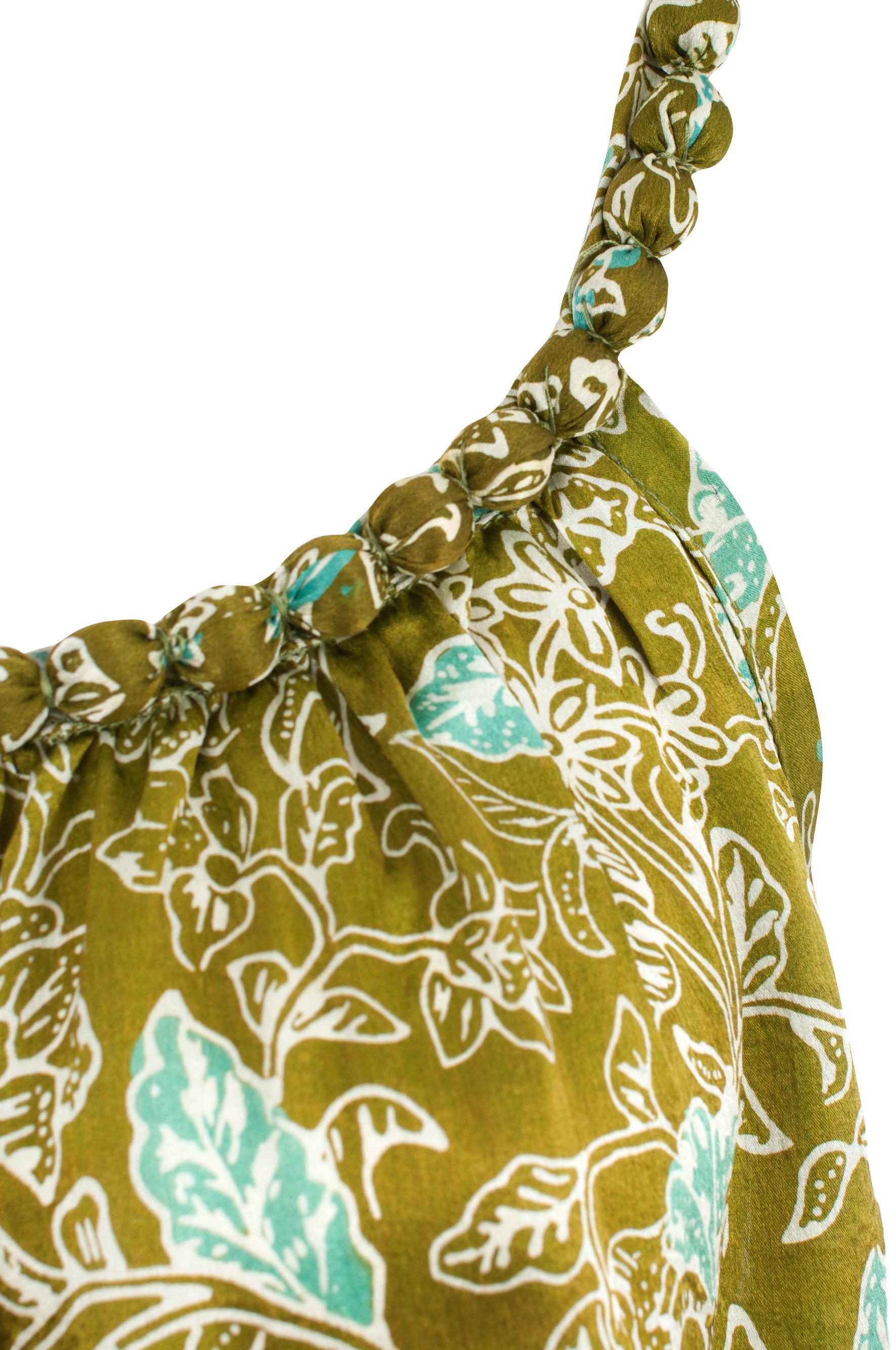 Sukienka jedwabna mini z naszyjnikiem Uluwatu packshot zoom