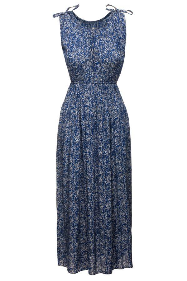 Sukienka letnia maxi elastyczna w pasie packshot front