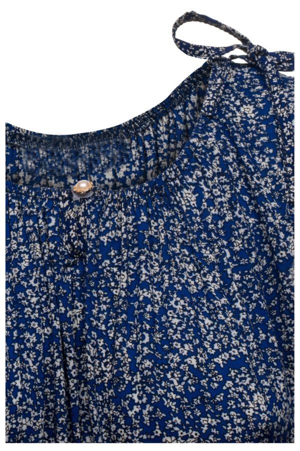 Sukienka letnia maxi elastyczna w pasie packshot zoom