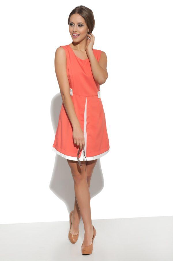 Sukienka mini retro model front