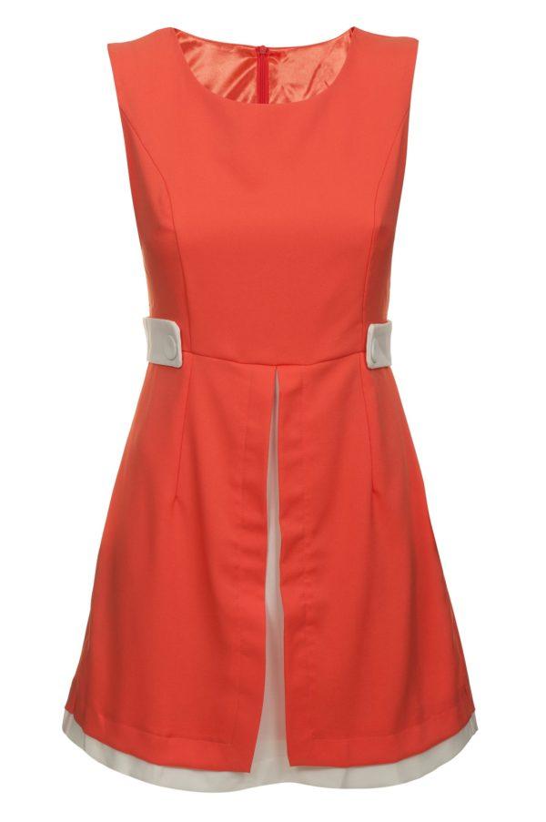 Sukienka mini retro packshot front