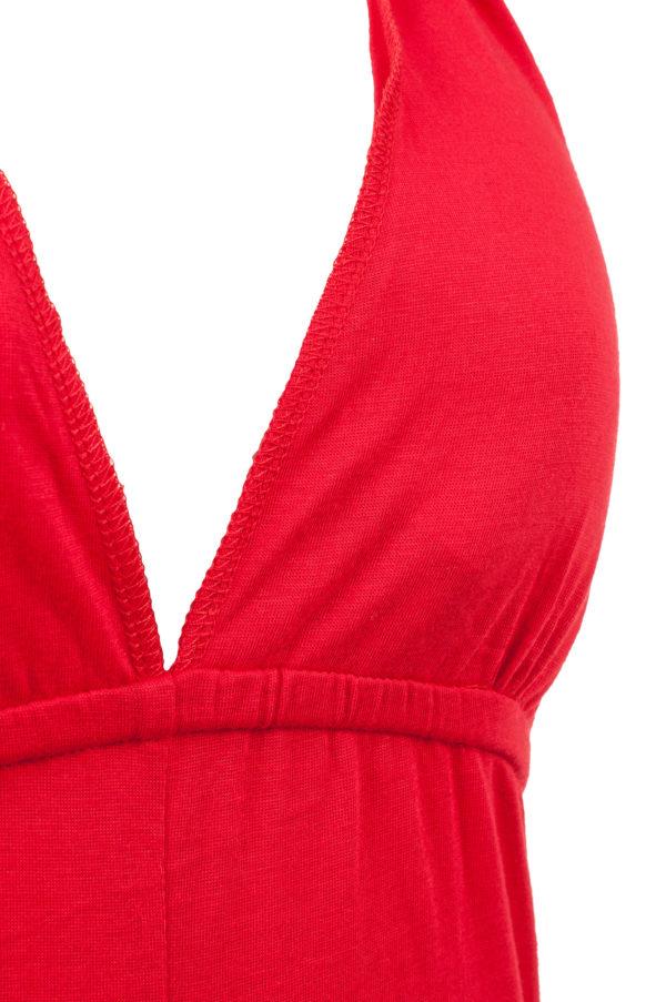 Sukienka maxi bawelniana z usztywnionym biustonoszem packshot zoom