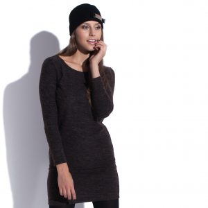 Robe mini d'automne Chocolate