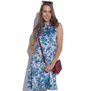 Summer dress with a pattern Celestial