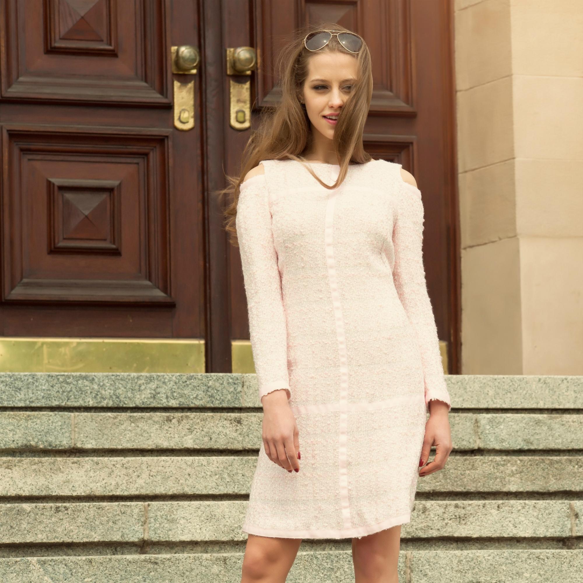 Dress Mini For Winter In Chanel Style Nebula Altaia