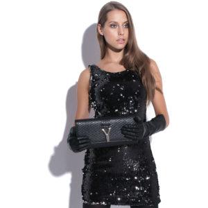 Sukienka cekinowa bez rękawów bliska ciała icon
