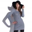 Sukienka Knitty Witty szara