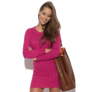 Robe Knitty Witty rose