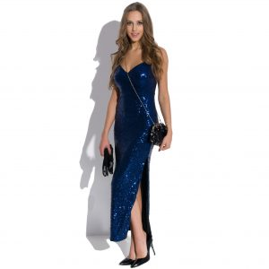 Vestido largo de lentejuelas Queen of the Night