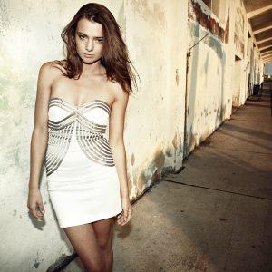 Robe bustier corset sans bretelles Pure Intense