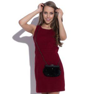Ciepła sukienka bez rękawów
