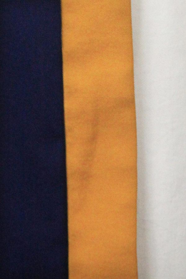 Robe sans manches tricolore Avant-Garde