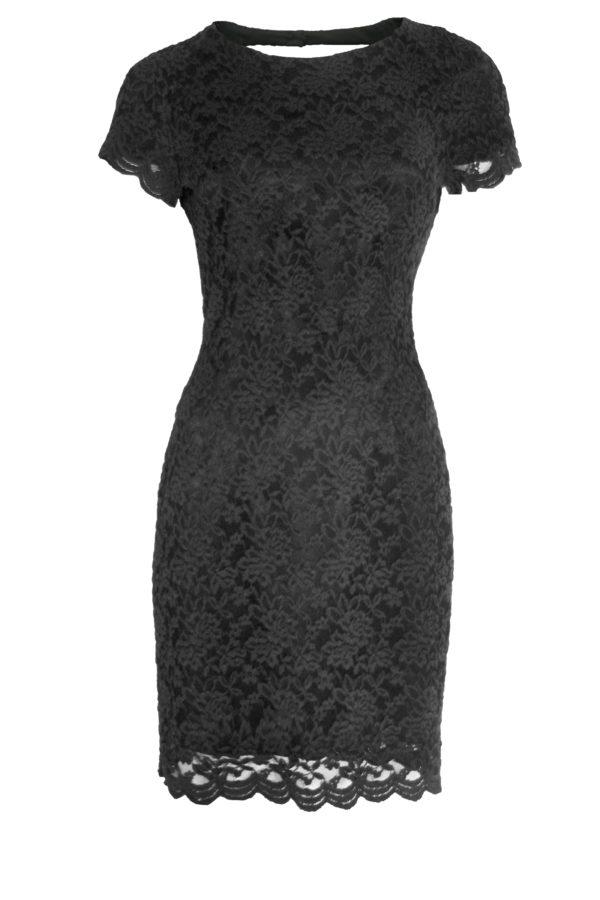 Robe en dentelle Regal Lace noire