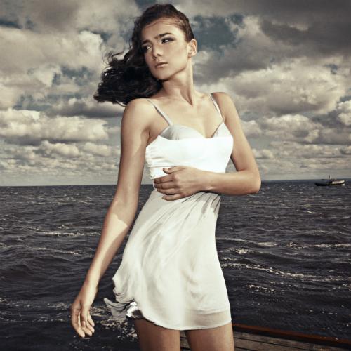 robe avec soutien-gorge