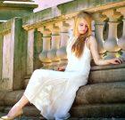 Linen maxi dress Alabaster Haze